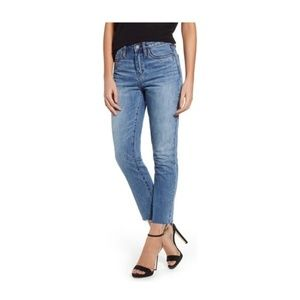 NWT Blank NYC The Madison Crop High Rise Jeans